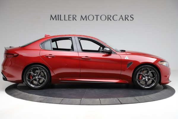New 2021 Alfa Romeo Giulia Quadrifoglio for sale $83,740 at Pagani of Greenwich in Greenwich CT 06830 7