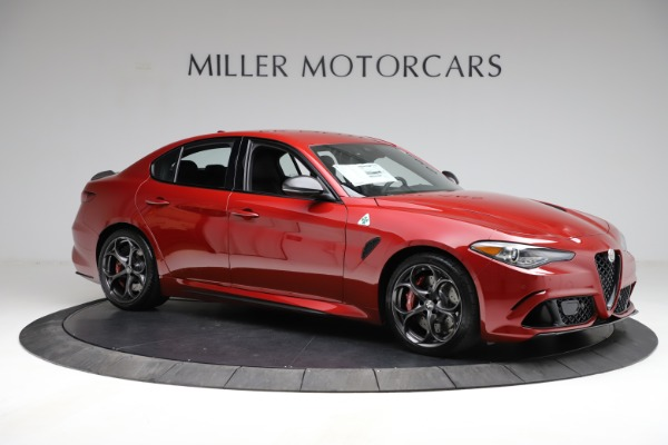 New 2021 Alfa Romeo Giulia Quadrifoglio for sale $83,740 at Pagani of Greenwich in Greenwich CT 06830 8