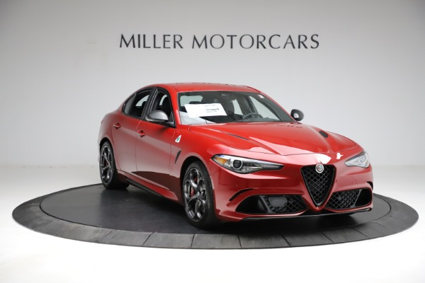 New 2021 Alfa Romeo Giulia Quadrifoglio for sale $83,740 at Pagani of Greenwich in Greenwich CT 06830 9