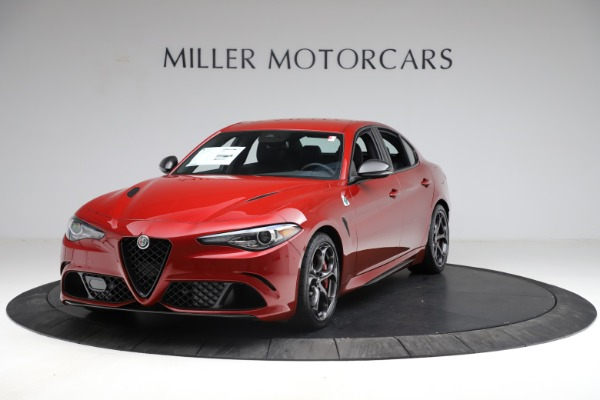 New 2021 Alfa Romeo Giulia Quadrifoglio for sale $83,740 at Pagani of Greenwich in Greenwich CT 06830 1