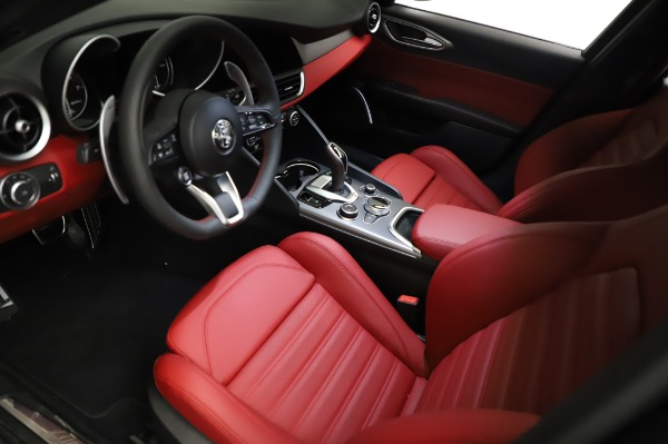 New 2021 Alfa Romeo Giulia Ti Sport for sale $54,050 at Pagani of Greenwich in Greenwich CT 06830 12