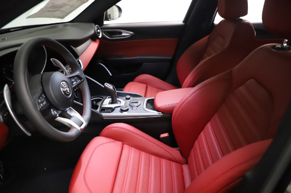 New 2021 Alfa Romeo Giulia Ti Sport for sale $54,050 at Pagani of Greenwich in Greenwich CT 06830 13