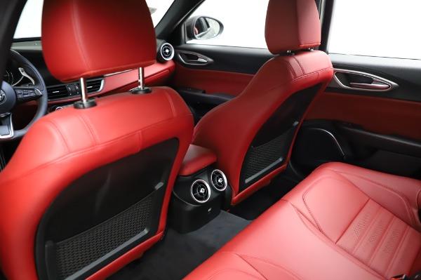New 2021 Alfa Romeo Giulia Ti Sport for sale $54,050 at Pagani of Greenwich in Greenwich CT 06830 17