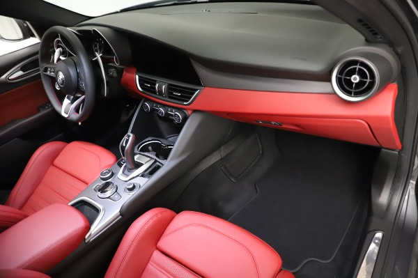 New 2021 Alfa Romeo Giulia Ti Sport for sale $54,050 at Pagani of Greenwich in Greenwich CT 06830 21