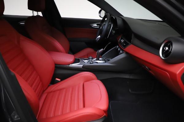 New 2021 Alfa Romeo Giulia Ti Sport for sale $54,050 at Pagani of Greenwich in Greenwich CT 06830 22