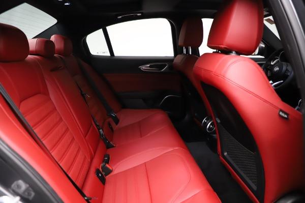 New 2021 Alfa Romeo Giulia Ti Sport for sale $54,050 at Pagani of Greenwich in Greenwich CT 06830 24
