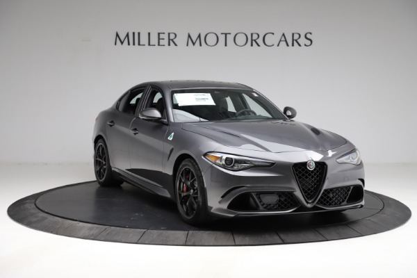 New 2021 Alfa Romeo Giulia Quadrifoglio for sale $83,200 at Pagani of Greenwich in Greenwich CT 06830 10