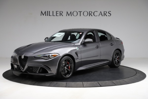 New 2021 Alfa Romeo Giulia Quadrifoglio for sale $83,200 at Pagani of Greenwich in Greenwich CT 06830 2