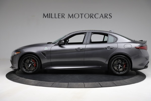 New 2021 Alfa Romeo Giulia Quadrifoglio for sale $83,200 at Pagani of Greenwich in Greenwich CT 06830 3