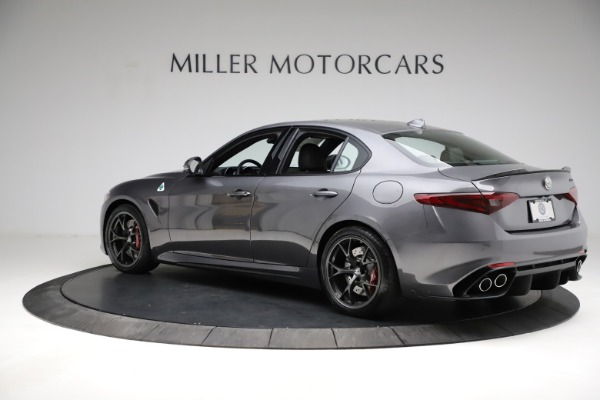 New 2021 Alfa Romeo Giulia Quadrifoglio for sale $83,200 at Pagani of Greenwich in Greenwich CT 06830 4