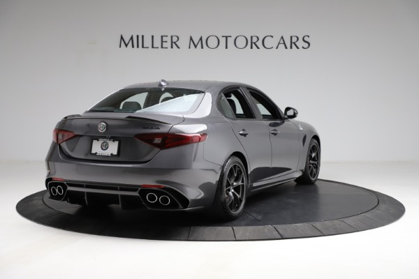 New 2021 Alfa Romeo Giulia Quadrifoglio for sale $83,200 at Pagani of Greenwich in Greenwich CT 06830 6