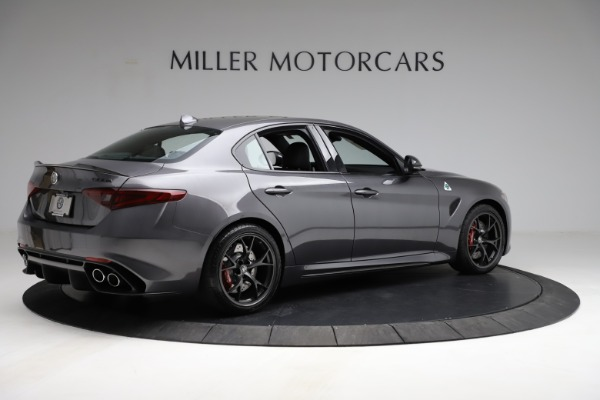 New 2021 Alfa Romeo Giulia Quadrifoglio for sale $83,200 at Pagani of Greenwich in Greenwich CT 06830 7