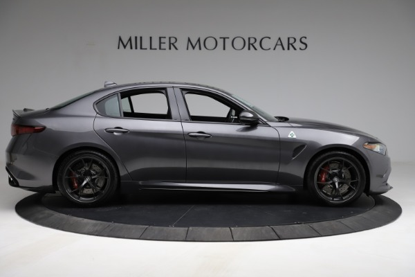 New 2021 Alfa Romeo Giulia Quadrifoglio for sale $83,200 at Pagani of Greenwich in Greenwich CT 06830 8