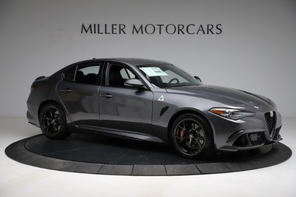 New 2021 Alfa Romeo Giulia Quadrifoglio for sale $83,200 at Pagani of Greenwich in Greenwich CT 06830 9