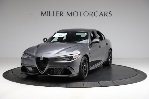 New 2021 Alfa Romeo Giulia Quadrifoglio for sale $83,200 at Pagani of Greenwich in Greenwich CT 06830 1