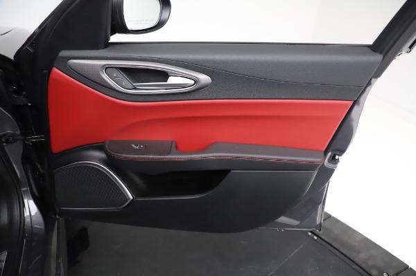 New 2021 Alfa Romeo Giulia Ti Sport for sale $54,050 at Pagani of Greenwich in Greenwich CT 06830 23