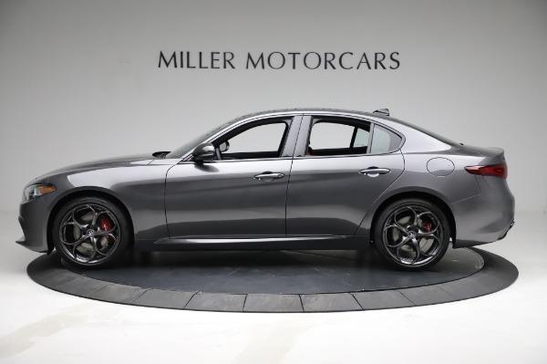 New 2021 Alfa Romeo Giulia Ti Sport for sale $54,050 at Pagani of Greenwich in Greenwich CT 06830 3