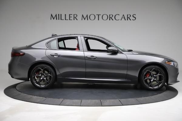 New 2021 Alfa Romeo Giulia Ti Sport for sale $54,050 at Pagani of Greenwich in Greenwich CT 06830 8