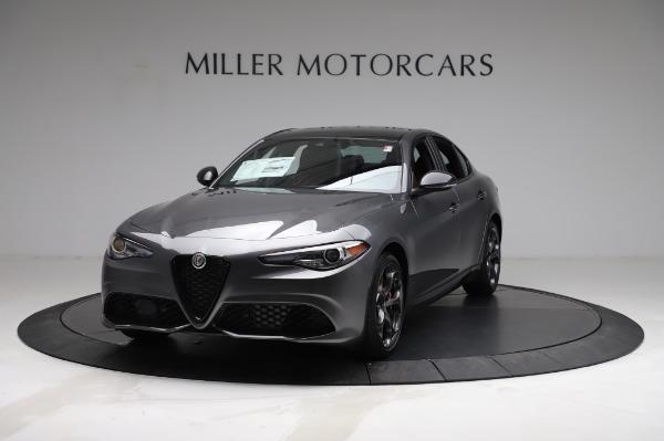 New 2021 Alfa Romeo Giulia Ti Sport for sale $54,050 at Pagani of Greenwich in Greenwich CT 06830 1