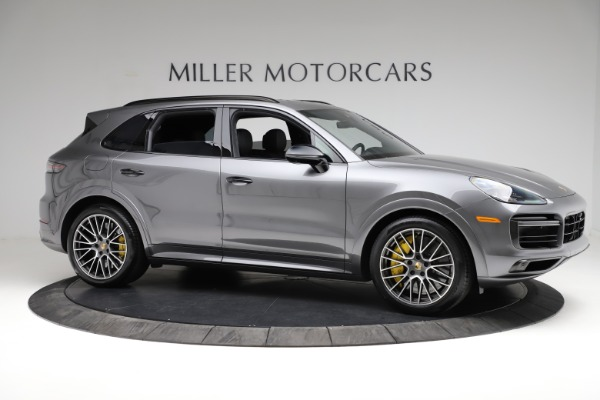 Used 2020 Porsche Cayenne Turbo for sale $145,900 at Pagani of Greenwich in Greenwich CT 06830 11