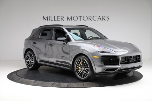 Used 2020 Porsche Cayenne Turbo for sale $145,900 at Pagani of Greenwich in Greenwich CT 06830 12