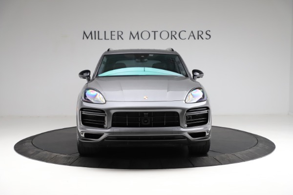 Used 2020 Porsche Cayenne Turbo for sale $145,900 at Pagani of Greenwich in Greenwich CT 06830 13