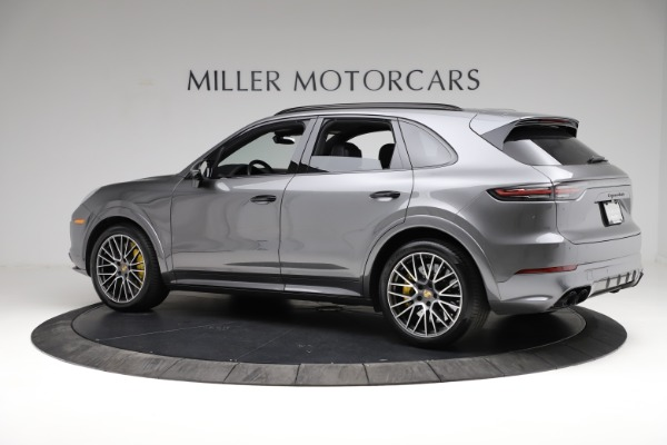 Used 2020 Porsche Cayenne Turbo for sale $145,900 at Pagani of Greenwich in Greenwich CT 06830 4