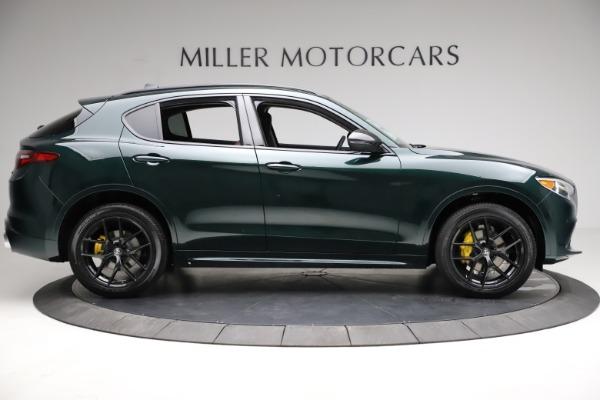 New 2021 Alfa Romeo Stelvio Ti for sale $53,650 at Pagani of Greenwich in Greenwich CT 06830 10