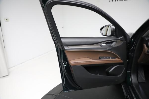 New 2021 Alfa Romeo Stelvio Ti for sale $53,650 at Pagani of Greenwich in Greenwich CT 06830 18