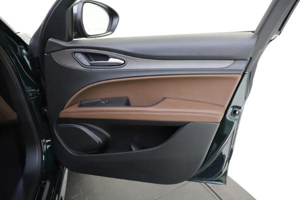 New 2021 Alfa Romeo Stelvio Ti for sale $53,650 at Pagani of Greenwich in Greenwich CT 06830 23
