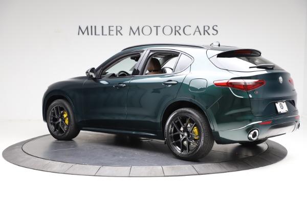 New 2021 Alfa Romeo Stelvio Ti for sale $53,650 at Pagani of Greenwich in Greenwich CT 06830 4