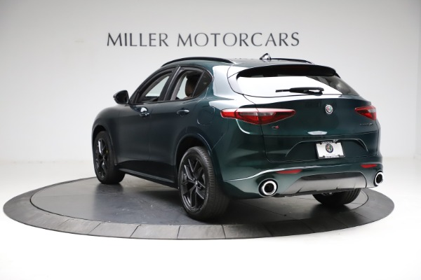 New 2021 Alfa Romeo Stelvio Ti for sale $53,650 at Pagani of Greenwich in Greenwich CT 06830 5