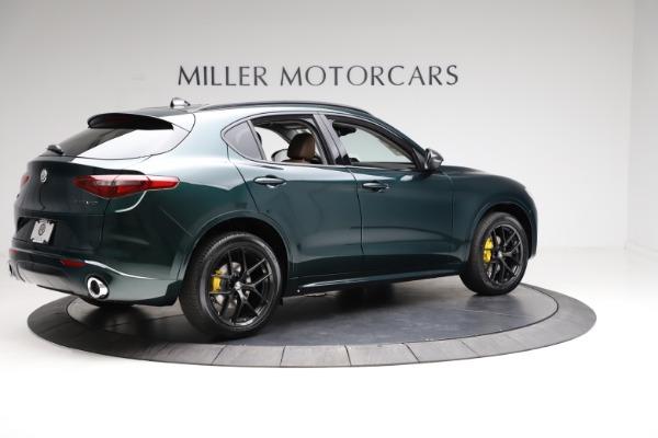 New 2021 Alfa Romeo Stelvio Ti for sale $53,650 at Pagani of Greenwich in Greenwich CT 06830 8