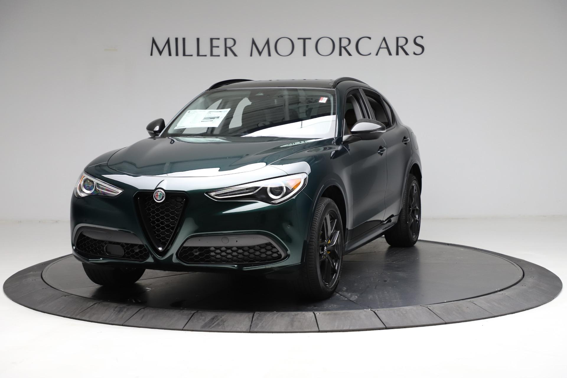 New 2021 Alfa Romeo Stelvio Ti for sale $53,650 at Pagani of Greenwich in Greenwich CT 06830 1
