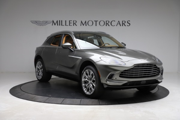 New 2021 Aston Martin DBX for sale $211,486 at Pagani of Greenwich in Greenwich CT 06830 10