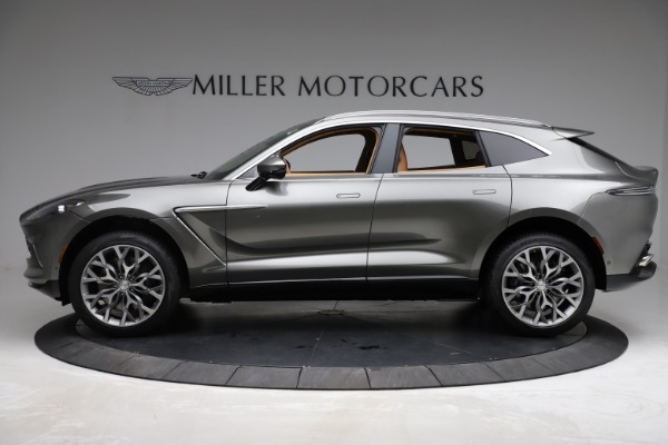 New 2021 Aston Martin DBX for sale $211,486 at Pagani of Greenwich in Greenwich CT 06830 2
