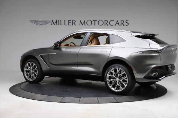 New 2021 Aston Martin DBX for sale $211,486 at Pagani of Greenwich in Greenwich CT 06830 3