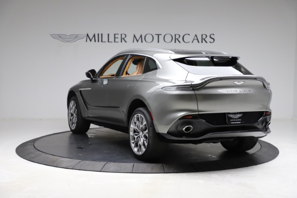 New 2021 Aston Martin DBX for sale $211,486 at Pagani of Greenwich in Greenwich CT 06830 4