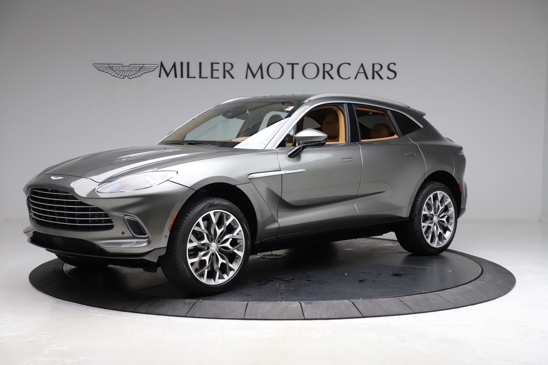 New 2021 Aston Martin DBX for sale $211,486 at Pagani of Greenwich in Greenwich CT 06830 1