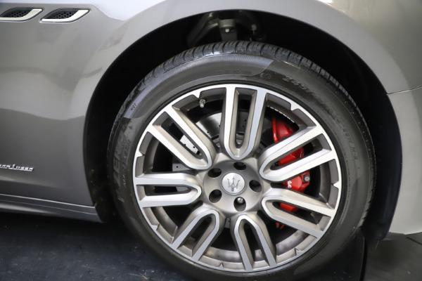 Used 2018 Maserati Ghibli SQ4 GranLusso for sale $55,900 at Pagani of Greenwich in Greenwich CT 06830 22