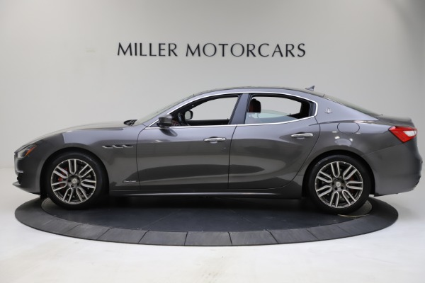 Used 2018 Maserati Ghibli SQ4 GranLusso for sale $55,900 at Pagani of Greenwich in Greenwich CT 06830 3