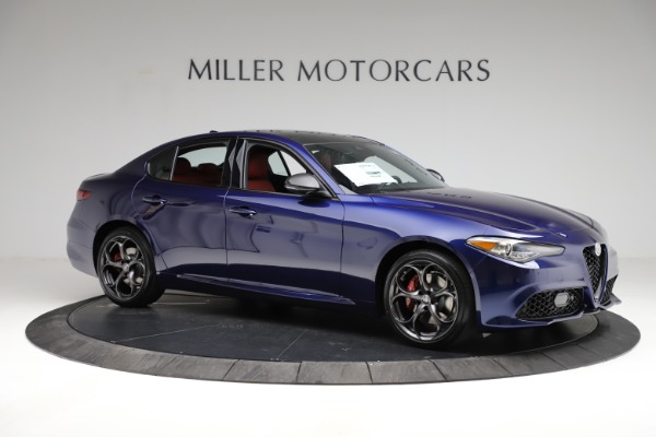 New 2021 Alfa Romeo Giulia Ti Sport for sale $54,050 at Pagani of Greenwich in Greenwich CT 06830 11
