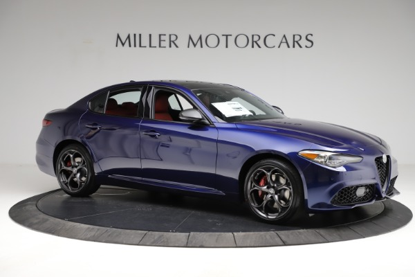 New 2021 Alfa Romeo Giulia Ti Sport for sale $54,050 at Pagani of Greenwich in Greenwich CT 06830 12