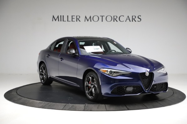 New 2021 Alfa Romeo Giulia Ti Sport for sale $54,050 at Pagani of Greenwich in Greenwich CT 06830 13