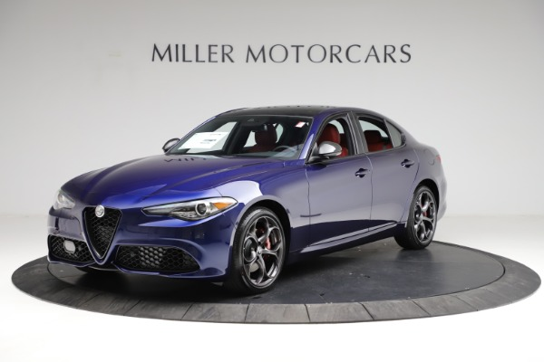 New 2021 Alfa Romeo Giulia Ti Sport for sale $54,050 at Pagani of Greenwich in Greenwich CT 06830 2