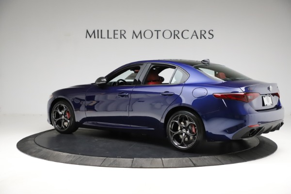 New 2021 Alfa Romeo Giulia Ti Sport for sale $54,050 at Pagani of Greenwich in Greenwich CT 06830 4