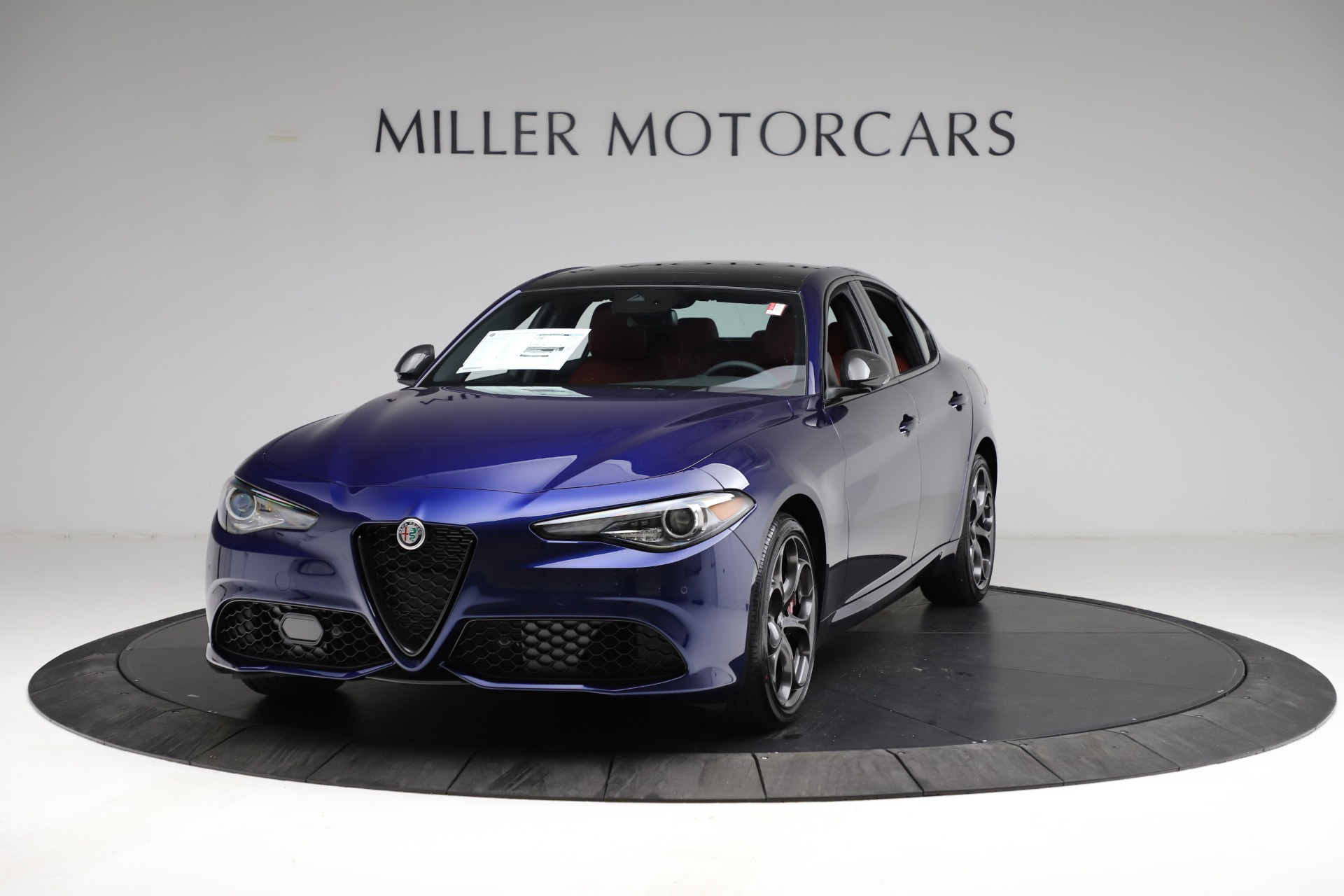 New 2021 Alfa Romeo Giulia Ti Sport for sale $54,050 at Pagani of Greenwich in Greenwich CT 06830 1