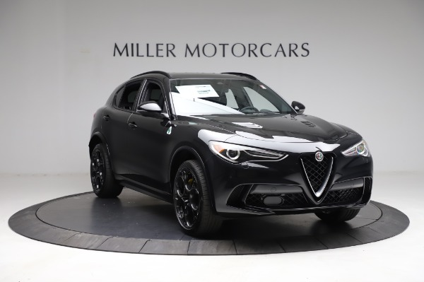 New 2021 Alfa Romeo Stelvio Quadrifoglio for sale $90,450 at Pagani of Greenwich in Greenwich CT 06830 11