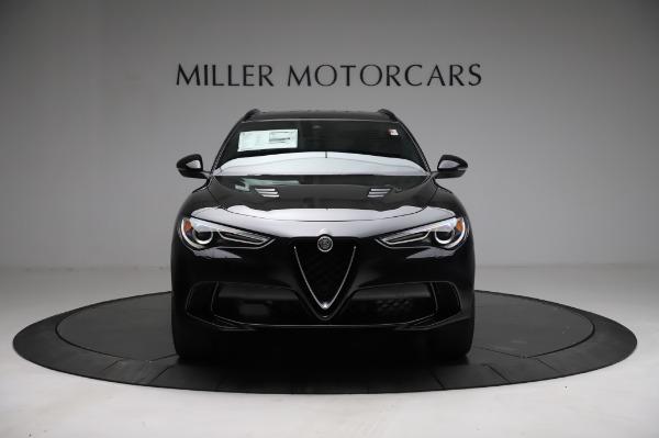 New 2021 Alfa Romeo Stelvio Quadrifoglio for sale $90,450 at Pagani of Greenwich in Greenwich CT 06830 12