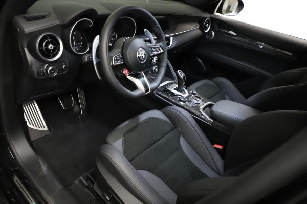 New 2021 Alfa Romeo Stelvio Quadrifoglio for sale $90,450 at Pagani of Greenwich in Greenwich CT 06830 13